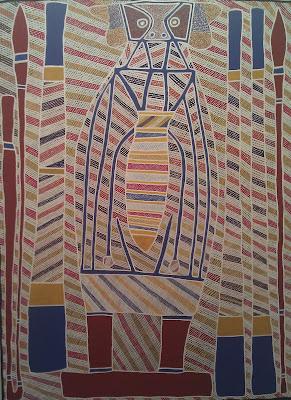 medicine man arte aborigena