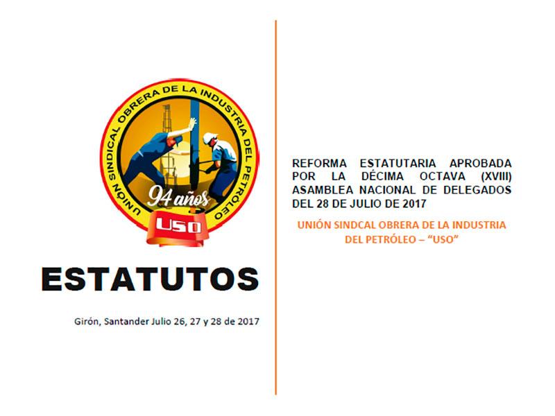 Reforma estatutaria aprobada por la Décima Octava (XVIII) Asamblea Nacional de Delegados del 28 de julio de 2017