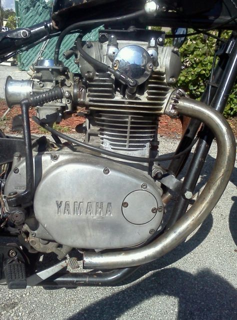 how to clean xs650 carbs