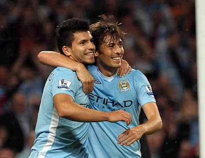 Aguero and Silva