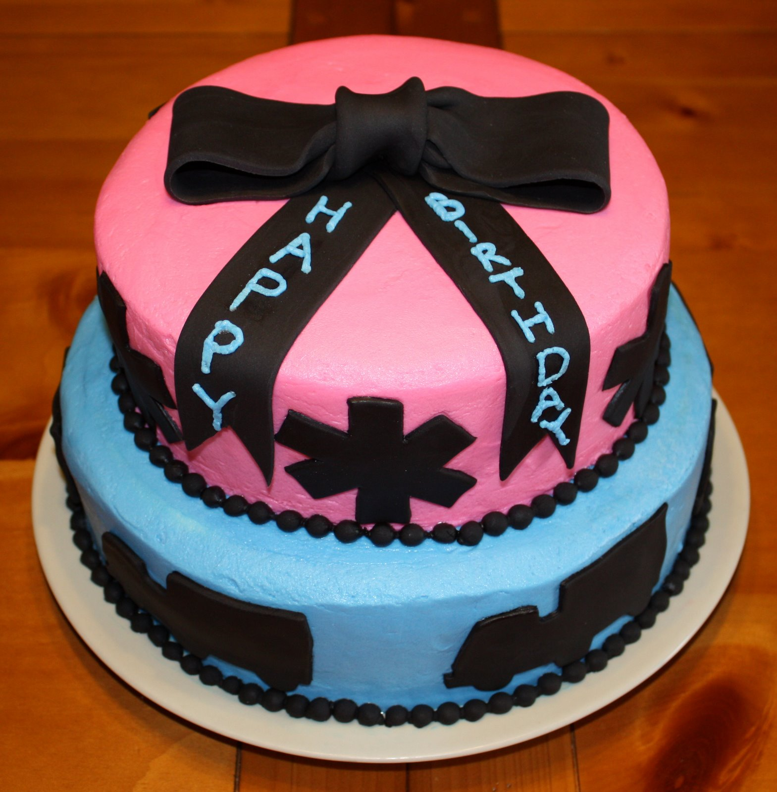Pretty Piece A Cake Double Birthday