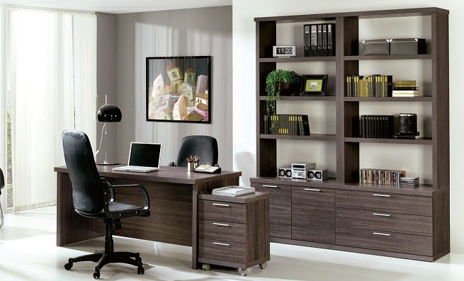 Modern work office decorating ideas 15 inspiring designs for Muebles para oficinas ejecutivas
