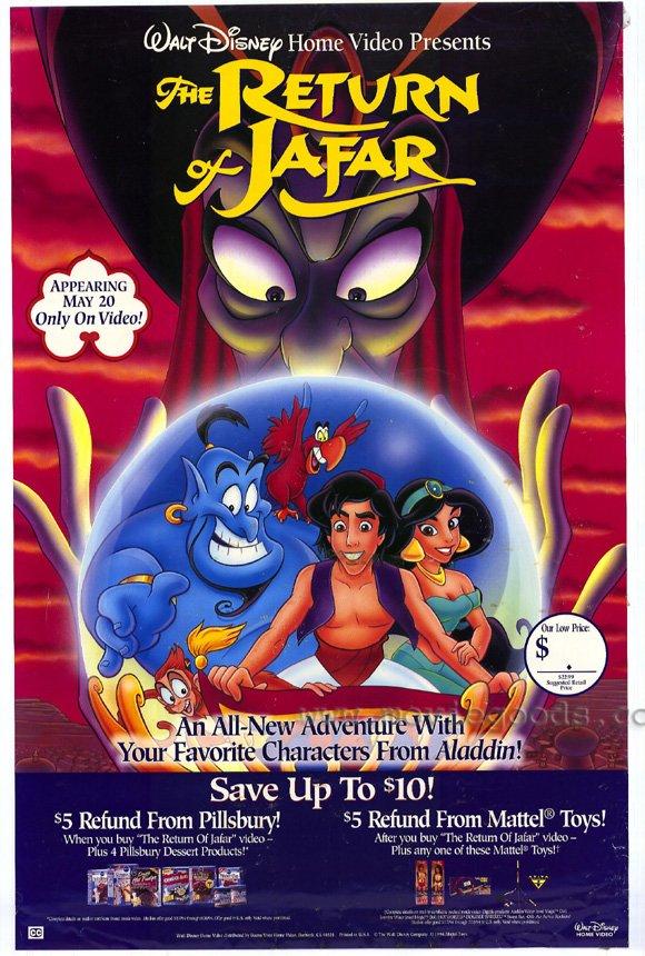 El retorno de Jafar (1994) Online