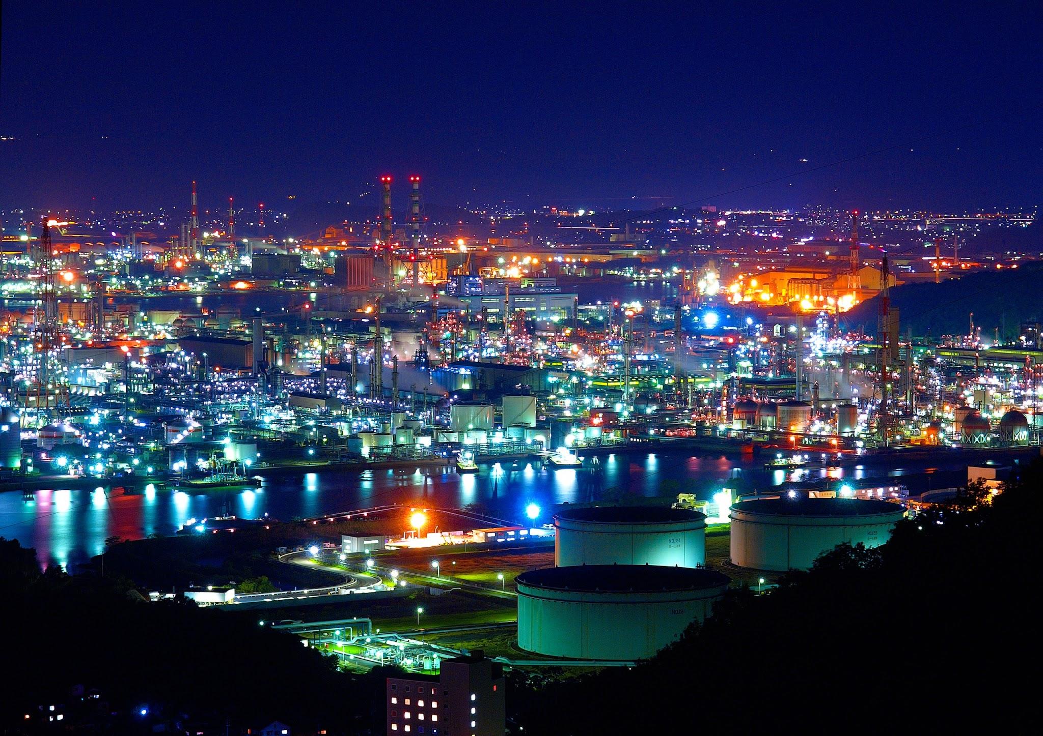 夜景の壁紙・日本