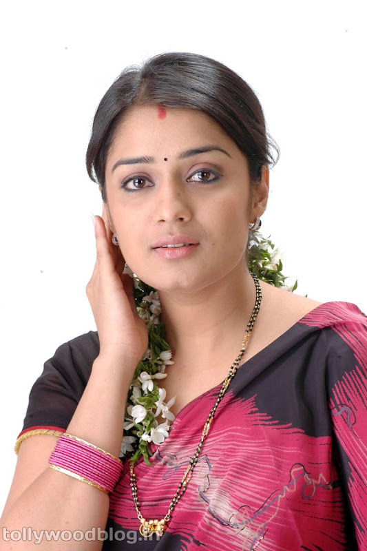 Actress Nikitha Beautiful Photos in Saree sexy stills
