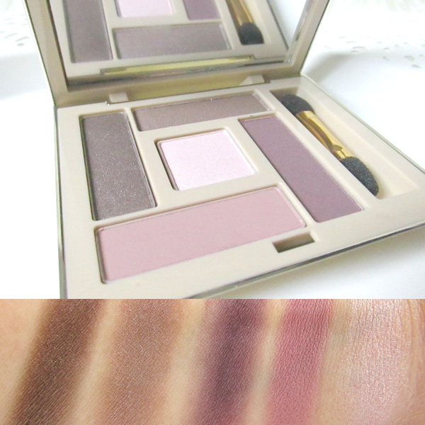 AVON LUXE Eyeshadow Palette - glamourous rose Swatches
