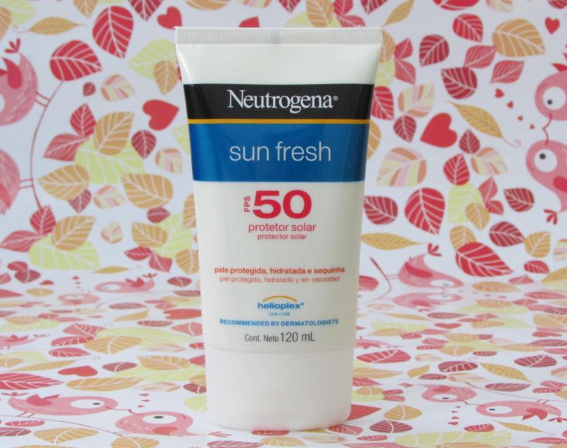 protetor solar, sun fresh, neutrogena