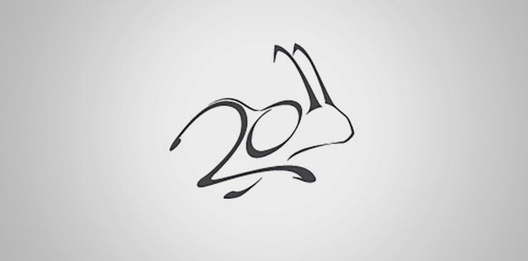 Awesome Logo - 2011 year of rabbit