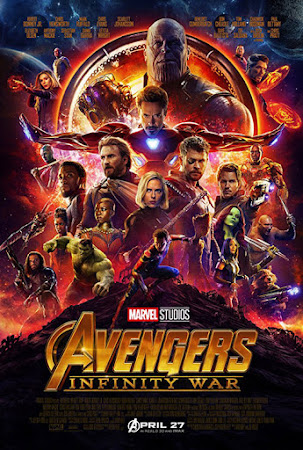Poster Of Avengers: Infinity War 2018 In Hindi Bluray 1080P Free Download
