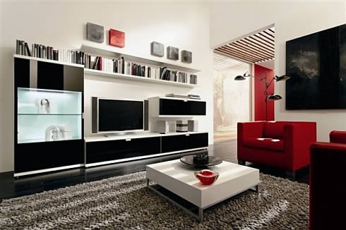 Living Room Cabinets on Furniture Modern Latest Furniture  Lcd Tv Cabinet Designs Ideas
