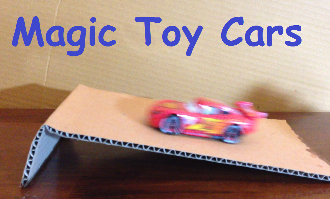 Homemade Simple Magic Toy Cars