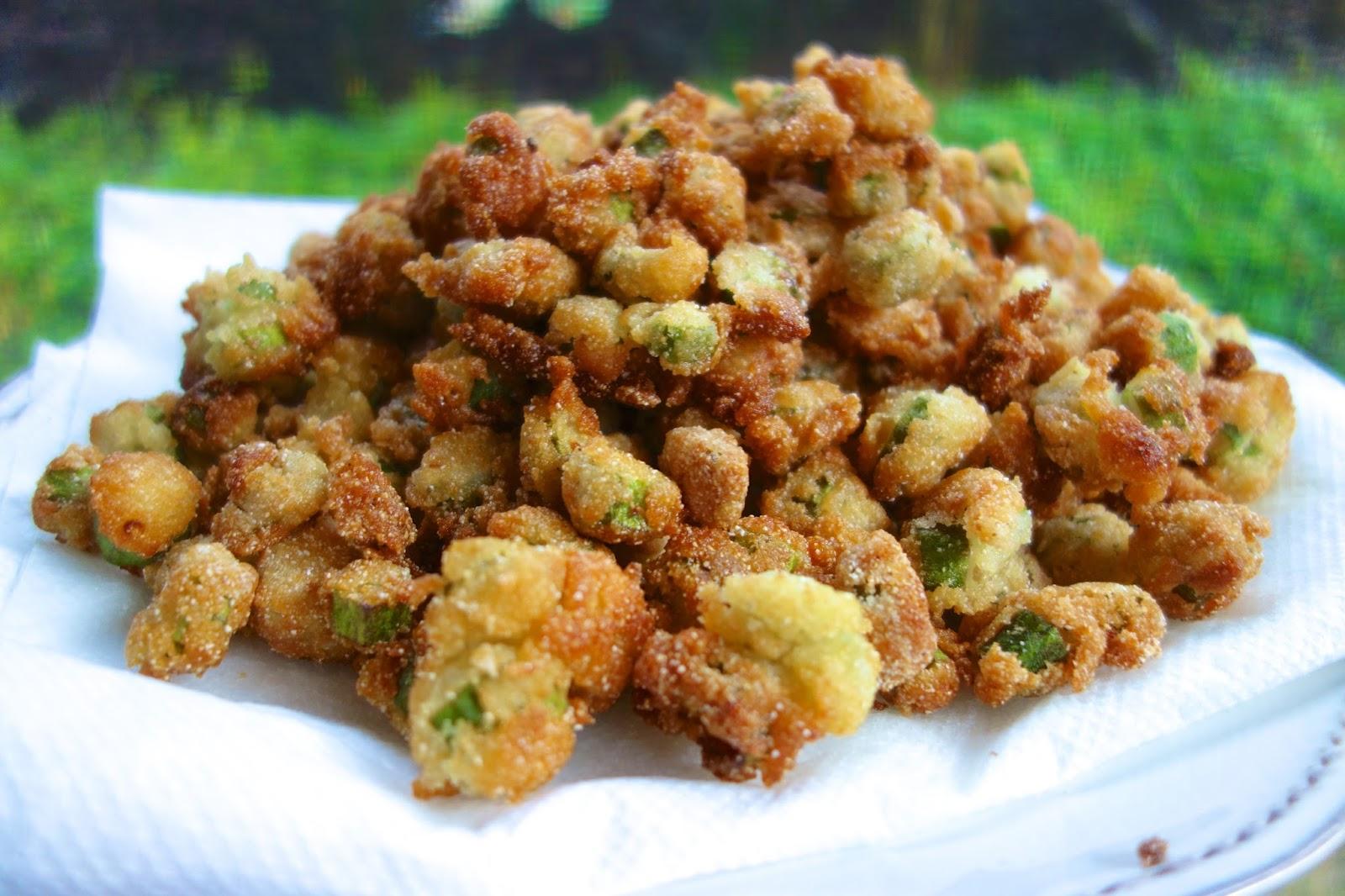 Southern Fried Okra | Plain Chicken