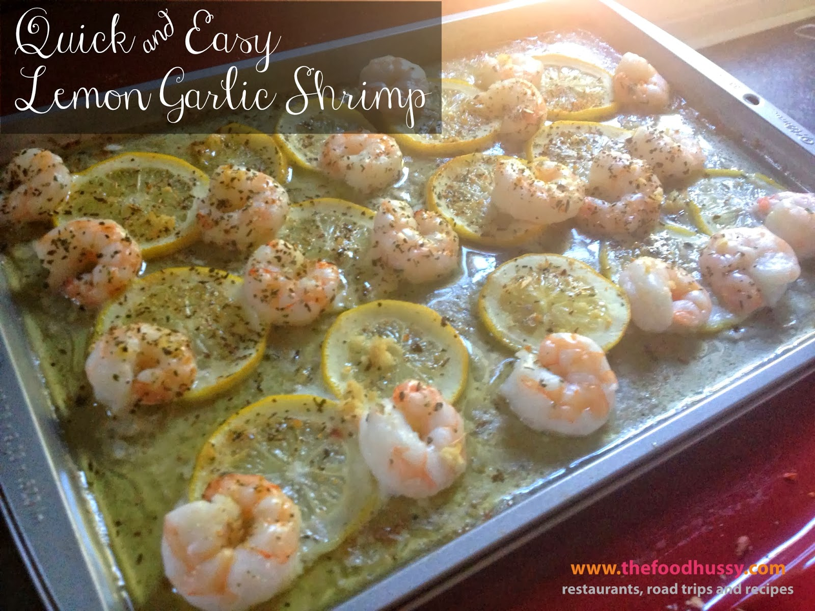 Quick and easy dinner recipe lemon garlic shrimp the What to make with shrimp for dinner