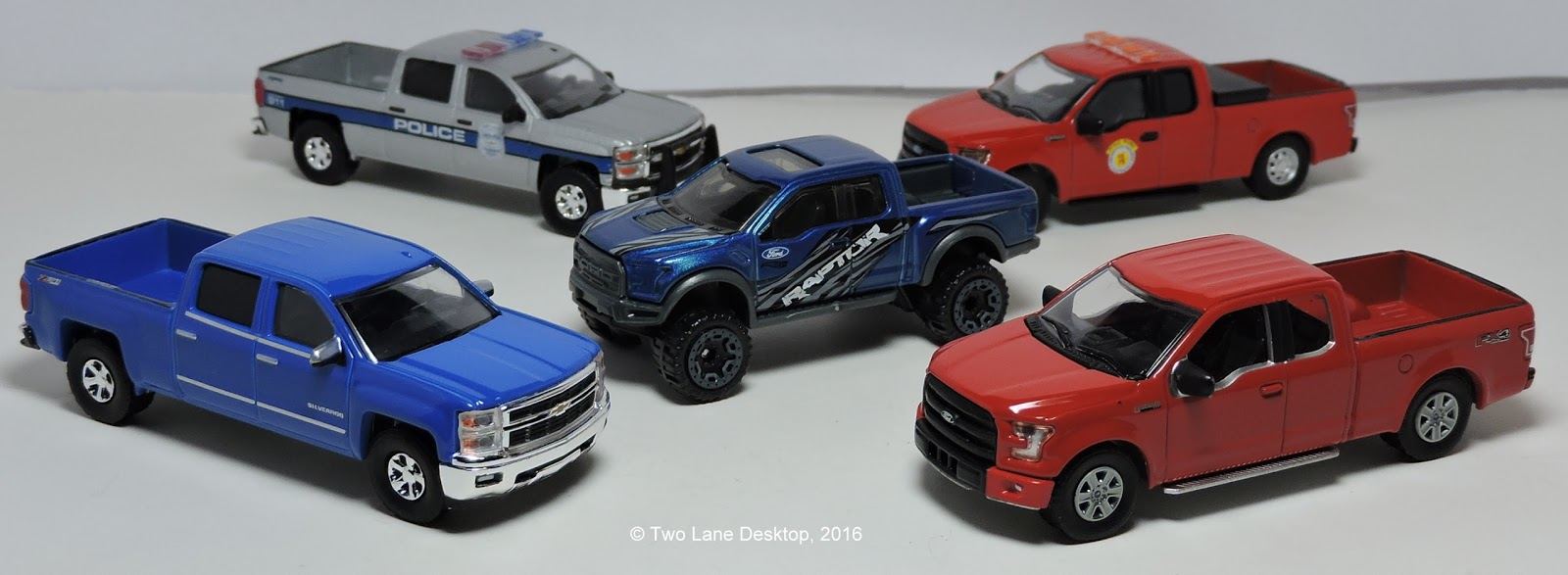 Hot Wheels 2020 Ford F-150 Raptor and Greenlight 2015 F-150 vs. 2015 ...