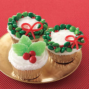 On pinterest and she wants to make these cupcakes for christmas eve