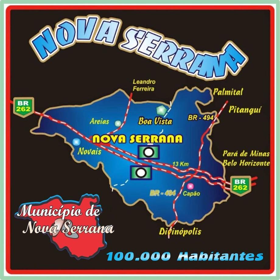 Município de Nova Serrana Comemora 64 Anos de Emancipação com mais de Cem Mil Habitantes