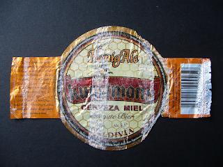 chilean beer Kunstmann Honig Ale