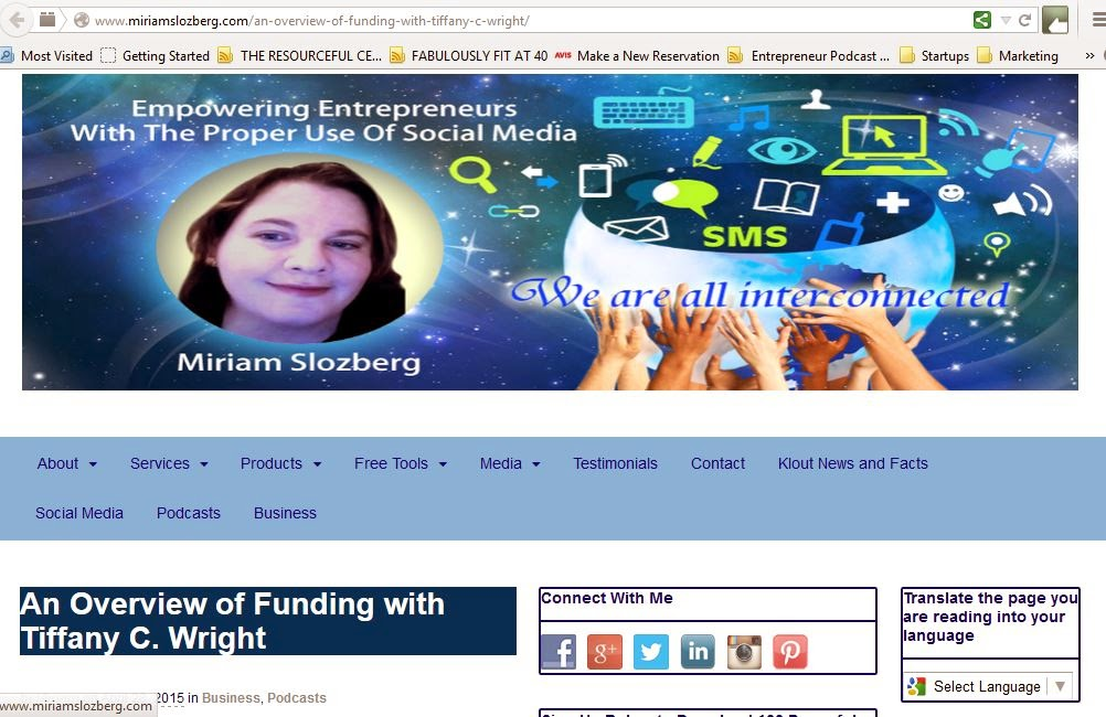 http://www.miriamslozberg.com/an-overview-of-funding-with-tiffany-c-wright/