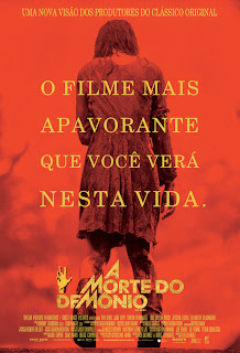 "Poster do filme ""A Morte do Demônio"""