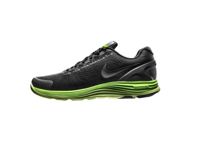 The Nike LunarGlide+4 Shield delivers an ideal blend of lightweight  cushioning and support with the winter protection of Shield. Designed for  every runner, ...