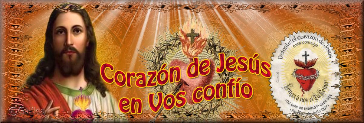 Corazón de Jesús en Vos Confío