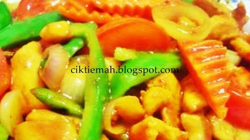 Resepi masakan Ayam Sweet Sour