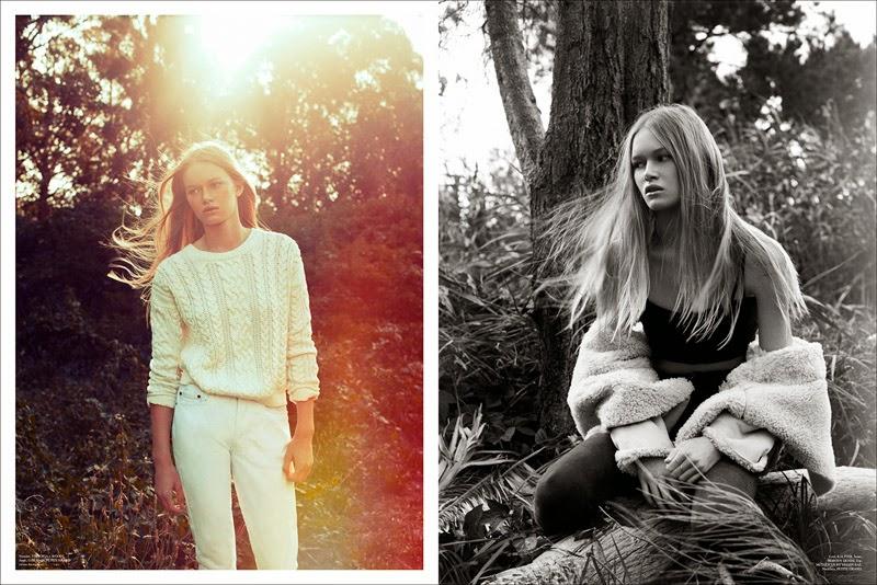 Alice Morgan By Christopher Ferguson For Stonefox #3 Spring/Summer 2014