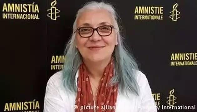Προφυλακίστηκε η διευθύντρια της τρομοκρατικής οργάνωσης του Soros,  υπό την κάλυψη Διεθνούς Αμνηστίας  στην Τουρκία ως τρομοκράτισσα