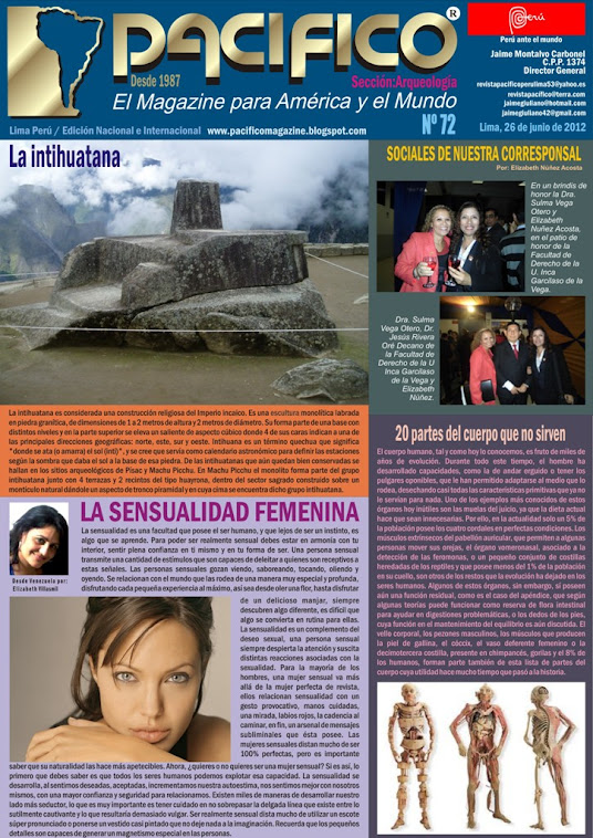 Revista Pacífico Nº 72 Arqueología