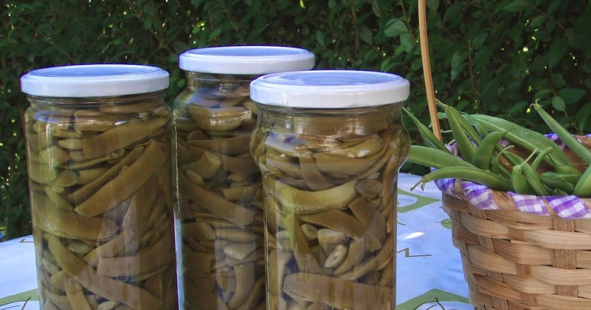 El tiempo entre cucharas conservas caseras jud as verdes - Tiempo coccion judias verdes ...