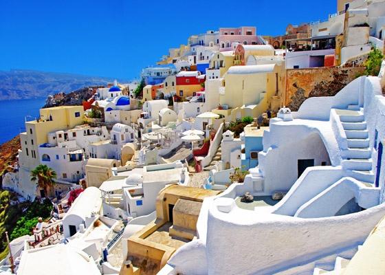 Islas griegas santorini playas y casas preciosas sitios for Casas en islas griegas