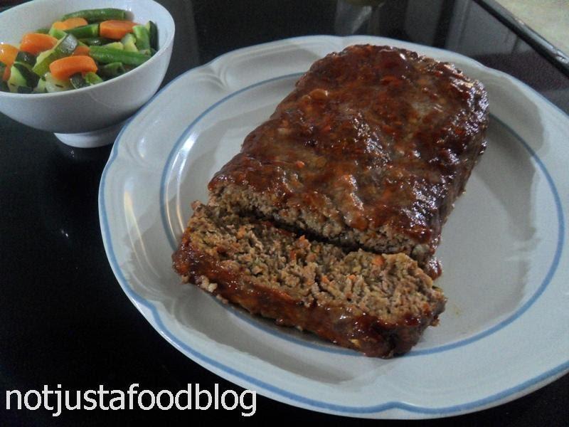 Garlic Meatloaf   Not Just A Food Blog