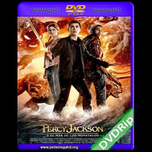 PERCY JACKSON Y EL MAR DE LOS MONSTRUOS (2013) DVDRIP ESPAÑOL LATINO