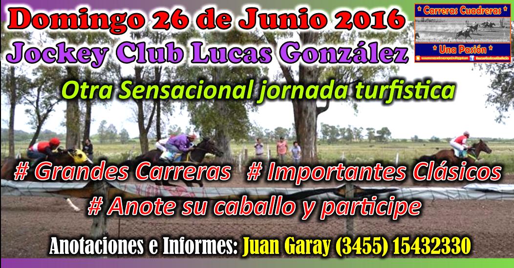 LUCAS GONZALEZ - 26.06.2016