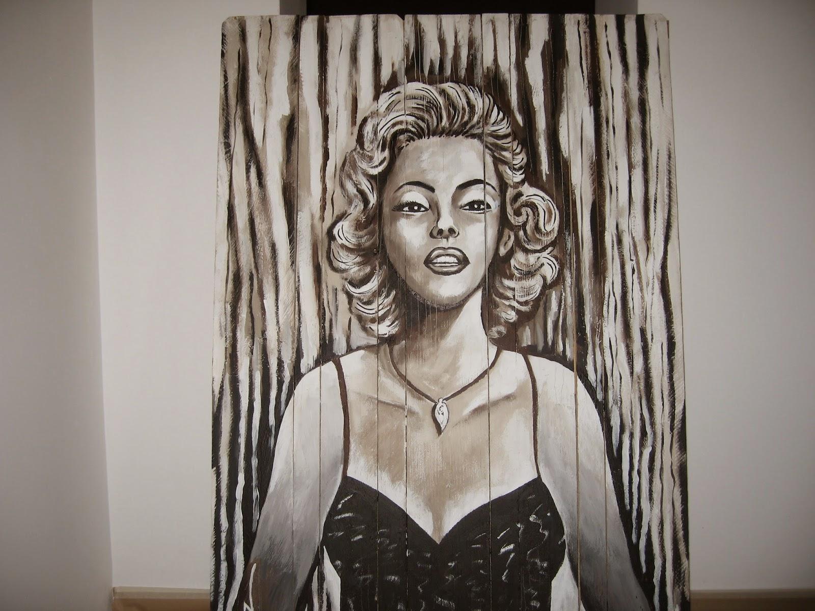 Graffiti de Marilyn Monroe