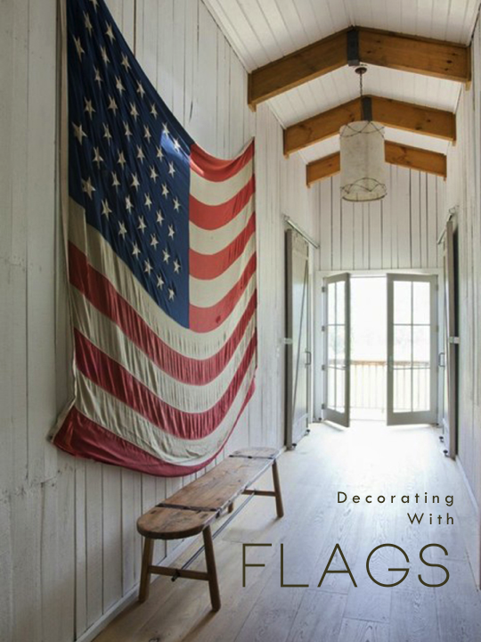 Decorating With Flags Holtwood Hipster