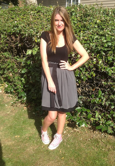 ASOS Dress and Converse - Outfit of the Day