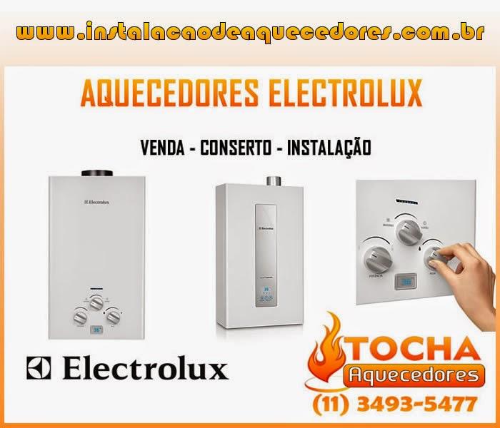 Instalação Aquecedor Electrolux