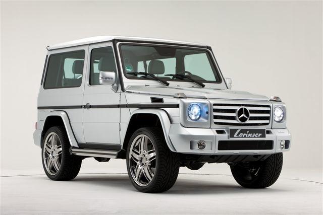 Benztuning lorinser mercedes benz gelandewagen 3 doors for Mercedes benz gelandewagen