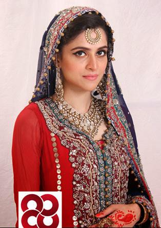 Arij Fatyma Looking Awesome in Bridal Dress