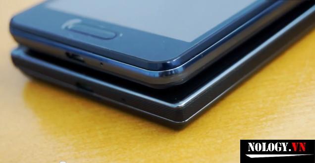 so sánh thiết kế LG LTE2 và LG LTE3
