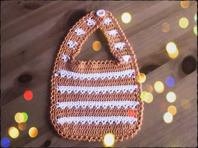 crochet para bebes: sencillo babero
