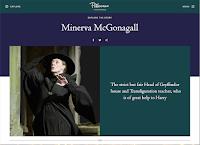 Il nuovo profilo di Minerva McGranitt