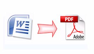 Cara Mudah Merubah File MS Word ke PDF