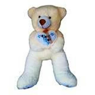 Boneka Teddy Bear Jumbo-Besar Cream