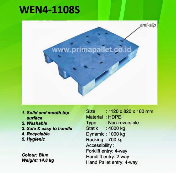 Pallet Plastik WEN4-1108S, Jual Pallet Plastik