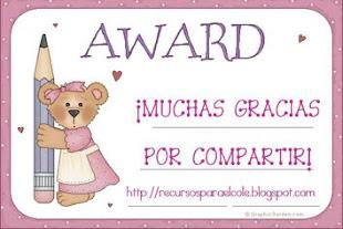 """Premio """"Compartir"""""""