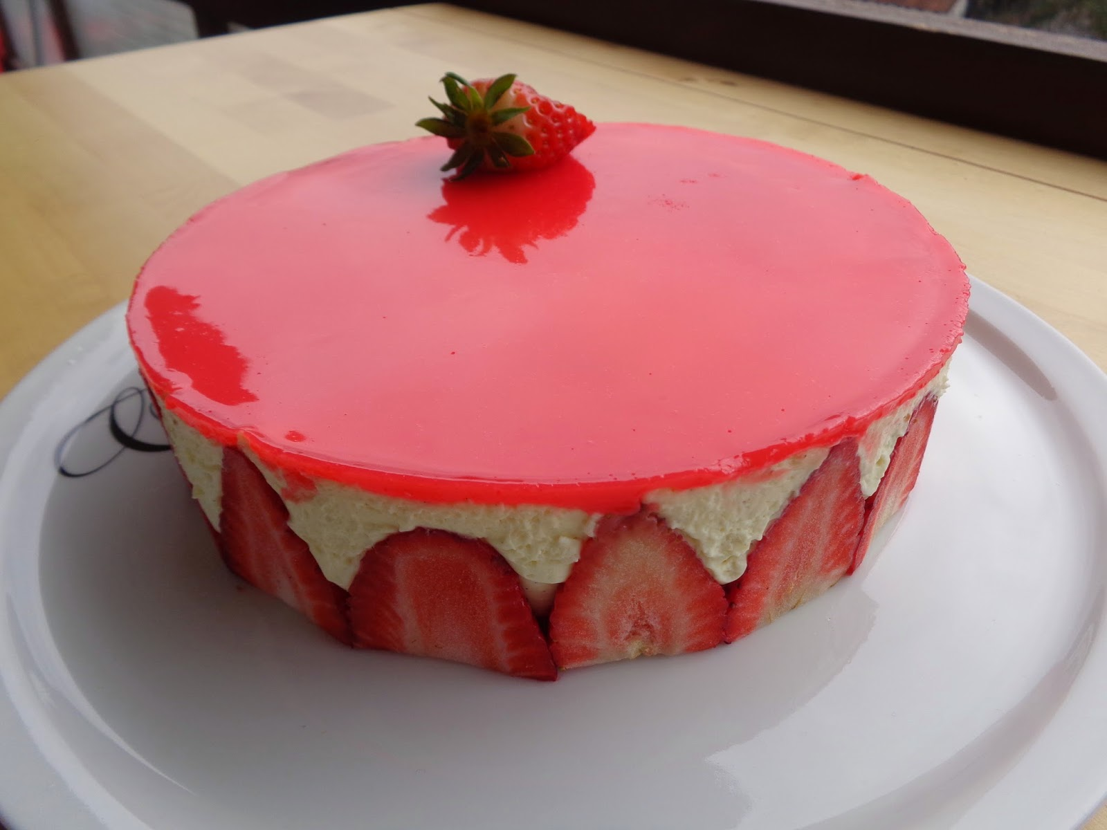 La tambouille de la petite mu le fraisier facile et l ger de la petite mu c - Quel fraisier choisir ...