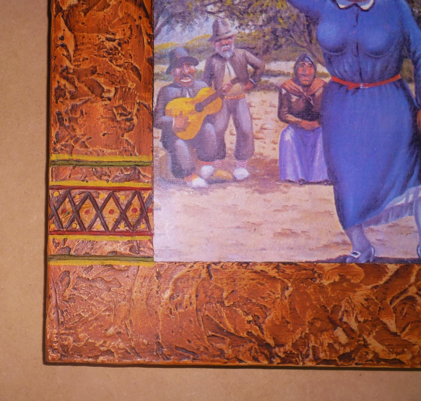 Almas en el viento marcos artesanales para cuadros y - Laminas de madera para pared ...