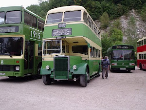 Southdown bus at Amberley Museum
